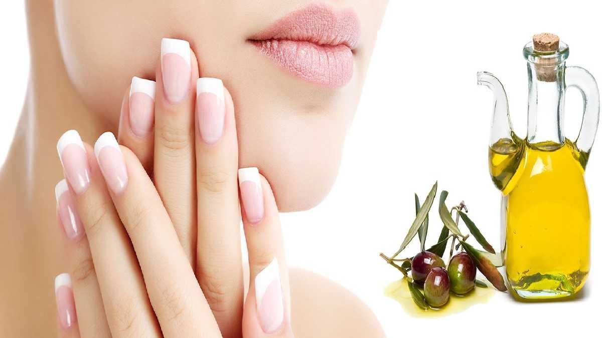 Dưỡng móng tay bằng dầu oliu với 4 cách cực dễ (4)