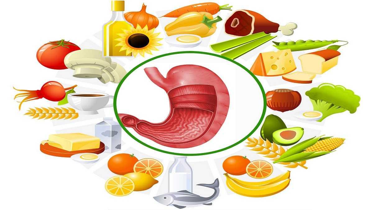 Đau dạ dày và 15 loại thực phẩm tốt cho tiêu hóa (1)