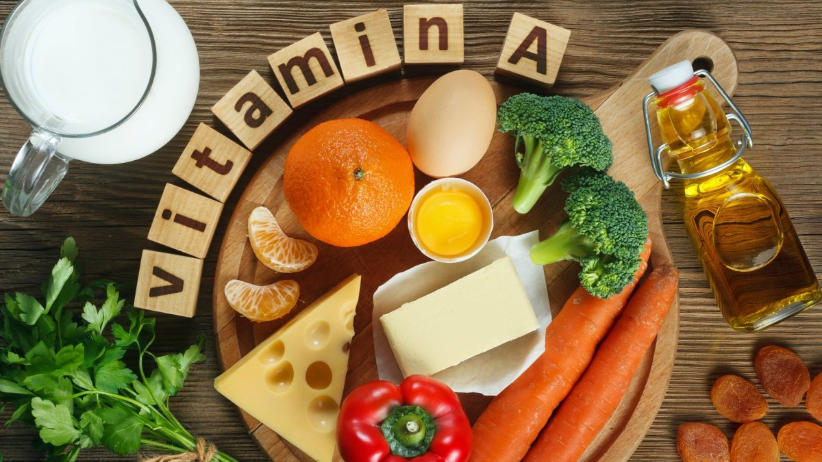 Lợi ích sức khỏe của vitamin A (1)