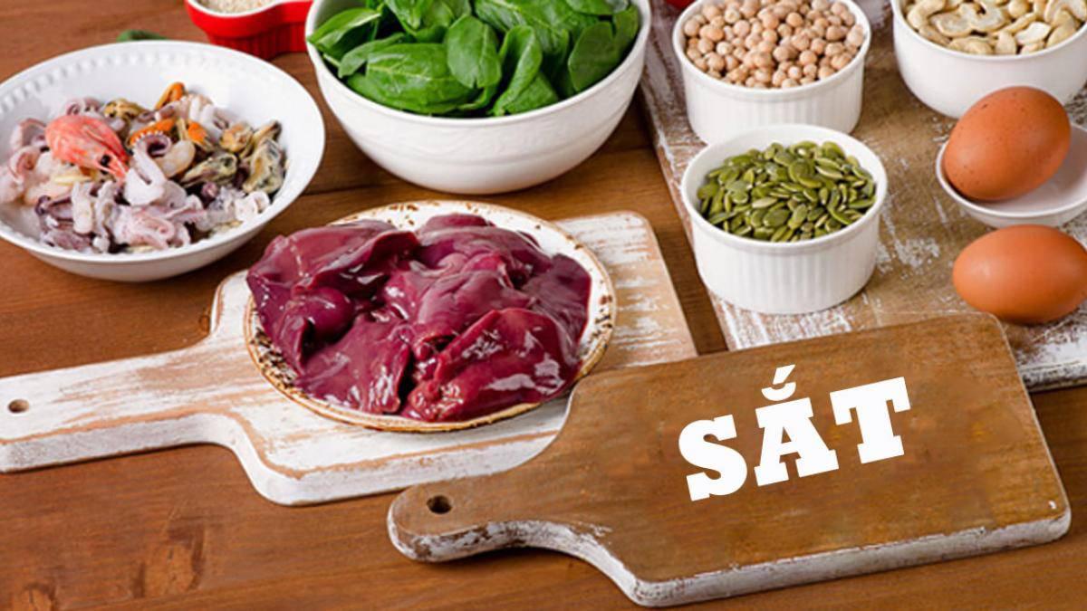 13 thực phẩm lành mạnh giàu chất sắt (1)