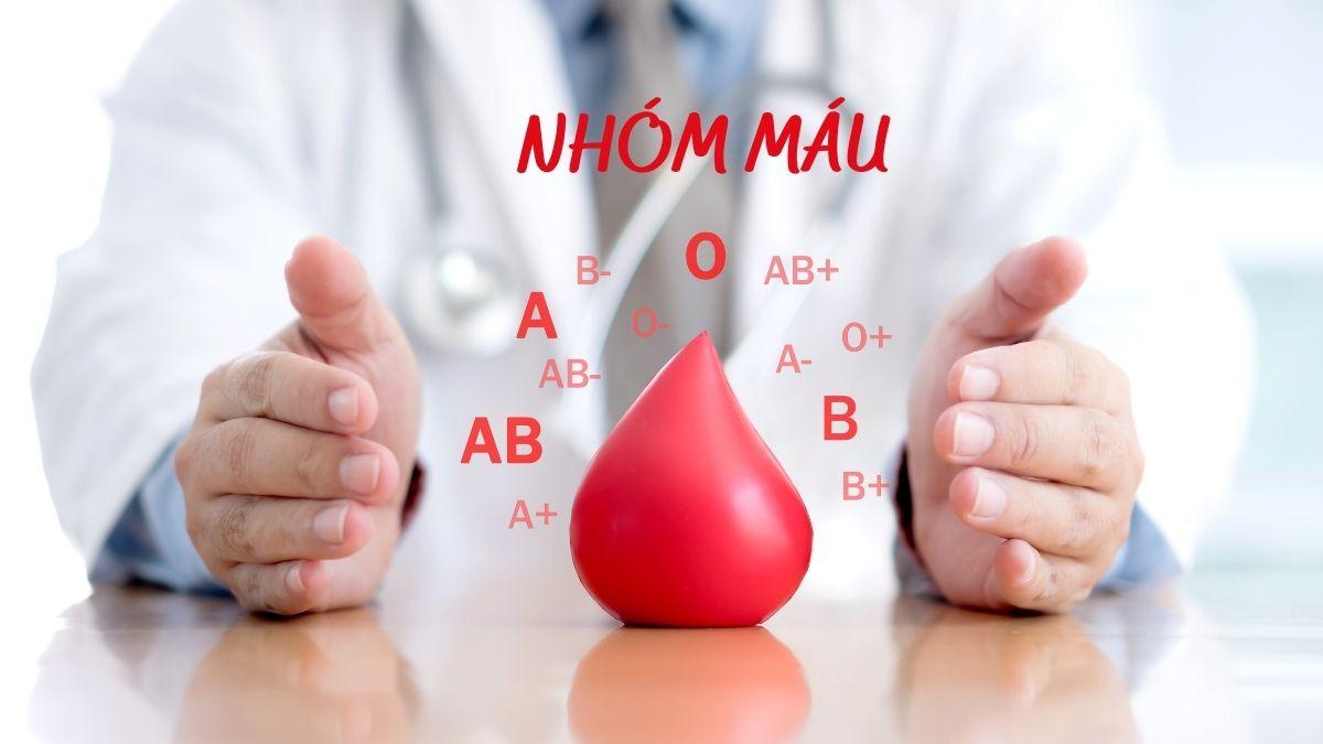 có mấy loại nhóm máu