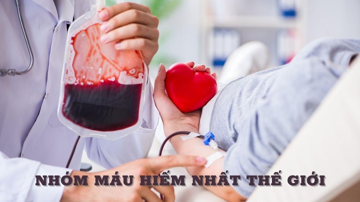 Tìm hiểu về 4 nhóm máu hiếm nhất thế giới (1)